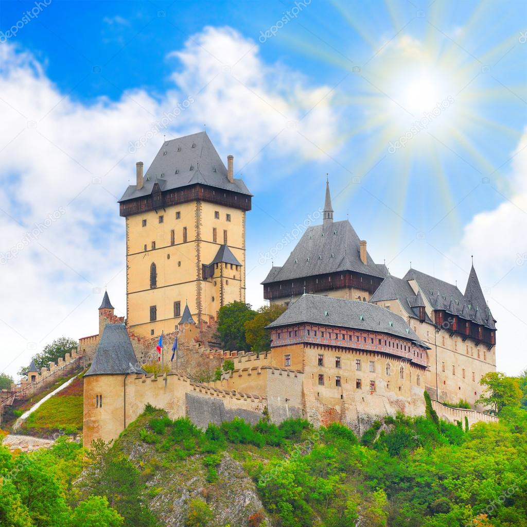 The Karlstejn castle
