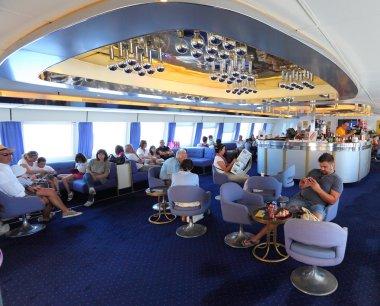 Passengers on ship
