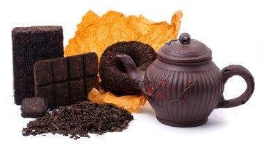 Aromatic black pu-erh tea from yunnan province in China.