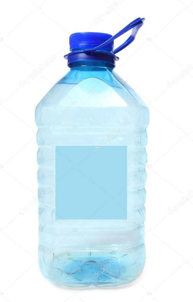 Пластиковая бутылка с питьевой водой — Стоковое фото ...