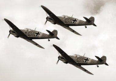 Historic planes Messerschmidt Me109