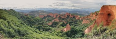 Las Medulas ancient Roman gold mines, UNESCO, Leon, Spain