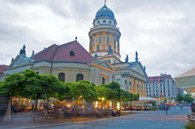 German Cathedral in Gendarmenmarkt Berlin Germany Europe
