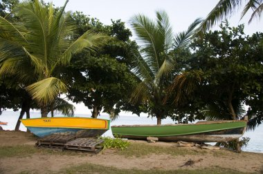 boat taxi and fishing boat lower bay bequia st. vincent