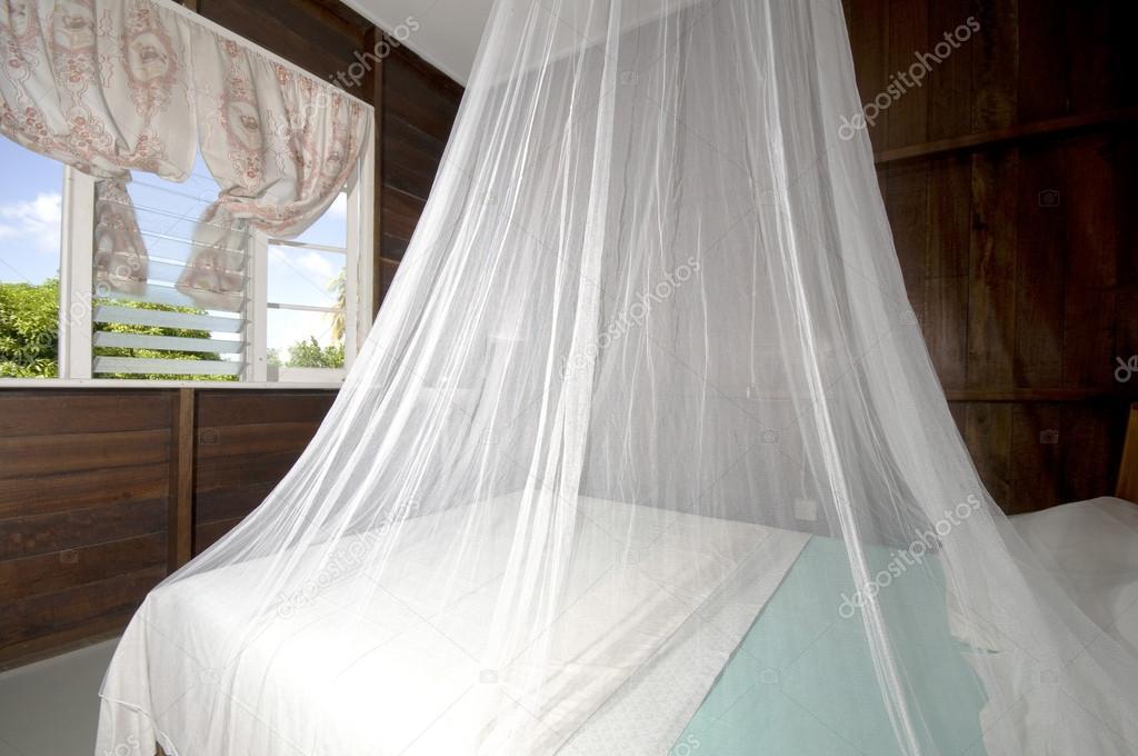 Zanzariera Da Letto : Camera da letto con zanzariera in budget guest house bequia u foto