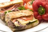 Gourment marhahúsos szendvics
