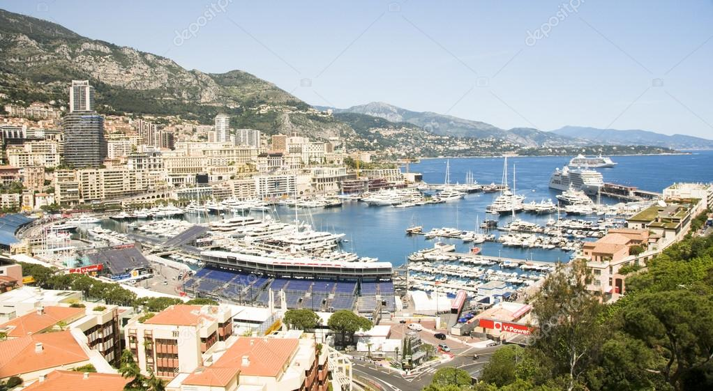 Editorial Monaco Grand Prix harbor