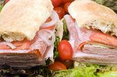 Labužníky italské combo sendvič ciabatta chléb