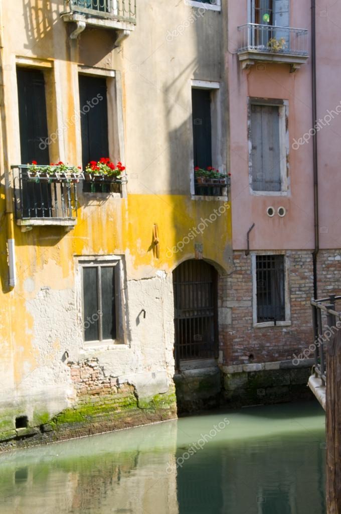 canal scene Venice Italy