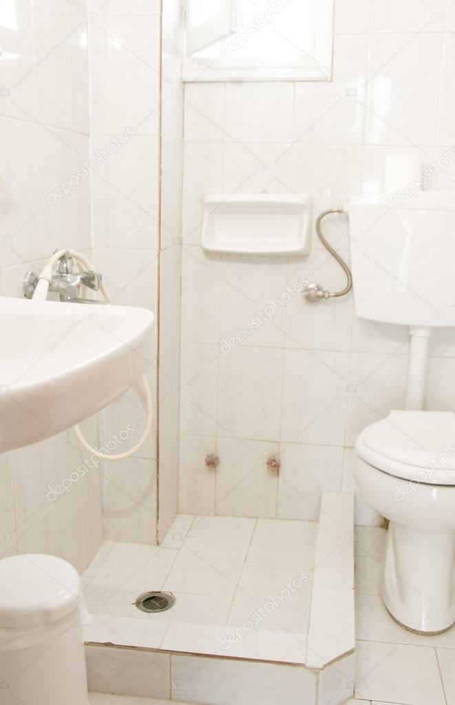 typisch Grieks eiland begroting gast huis badkamer ios cyclades ...