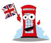 Fotografia telefono inglese divertente