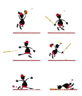 Funny Baseball Player