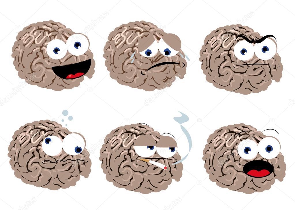 Herunterladen - Lustige Gehirn — Stockillustration #14038319