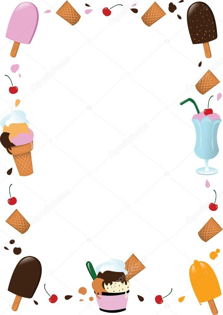 marco helado — Archivo Imágenes Vectoriales © pcanzo #14039449