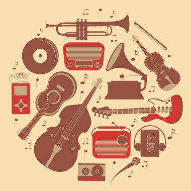 Round music composition