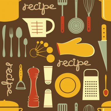 Cooking recipe pattern