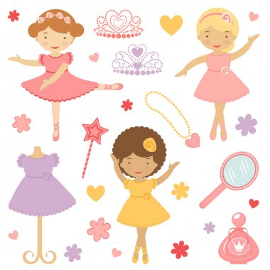 Little dancing ballerinas collection
