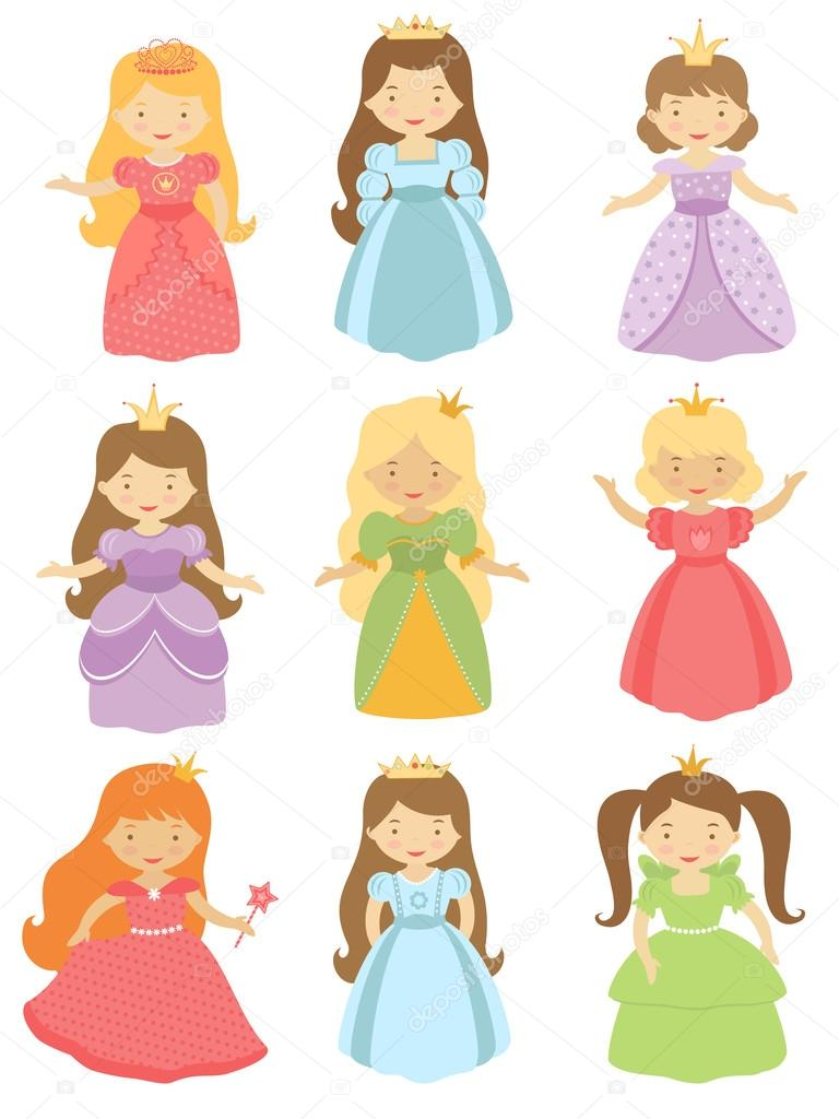 Beautiful princesses collection
