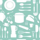 Fotografie kuchyně bezešvé vzor
