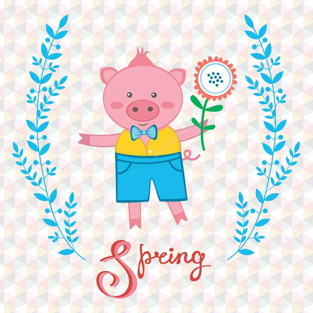 Spring pig