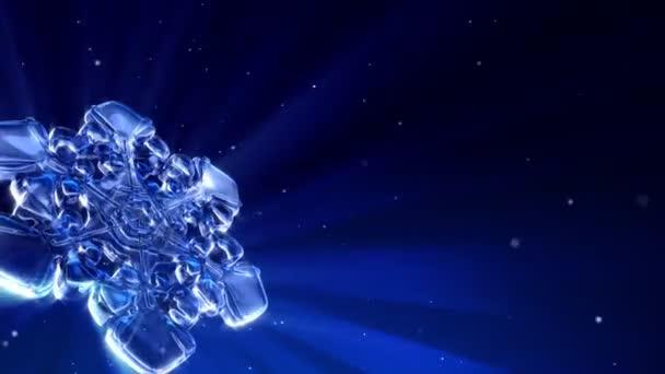 Kék jeges hópehely