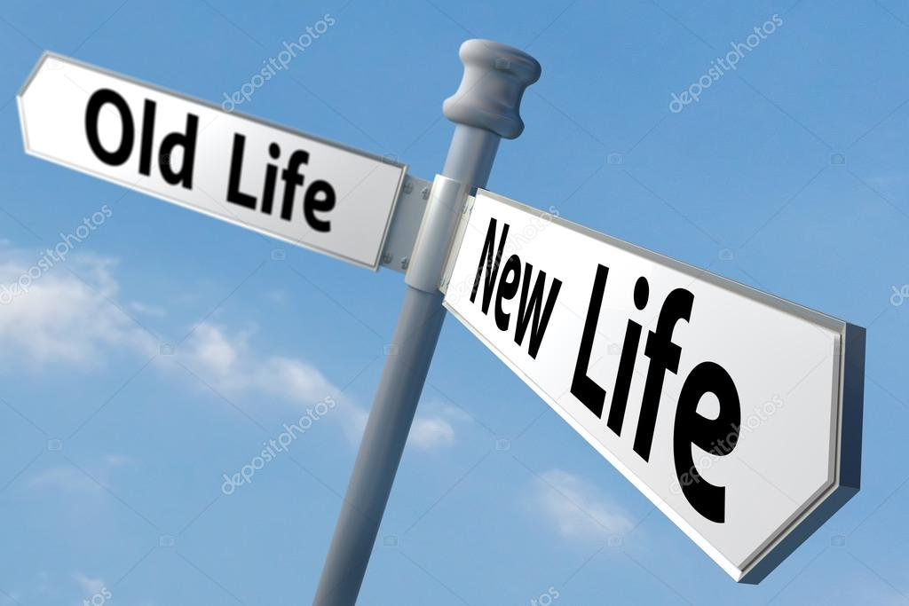 Sign of changing to new life