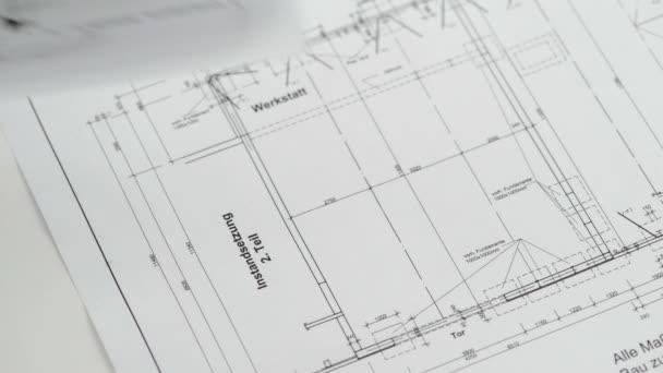 Blueprint for house construction