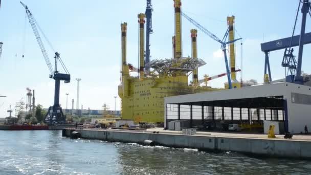 Warnow shipyards in Warnemünde
