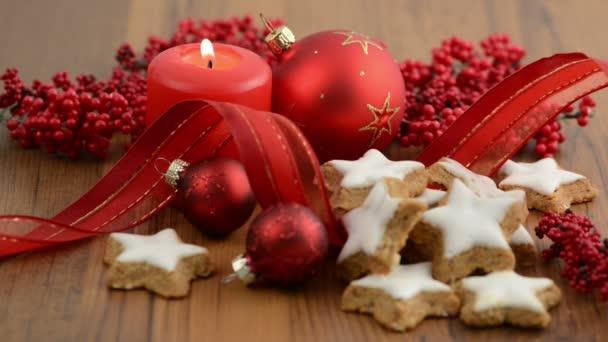 Candle on Christmas Time