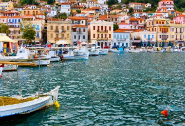 Traditional fishing village of Gytheio in Greece