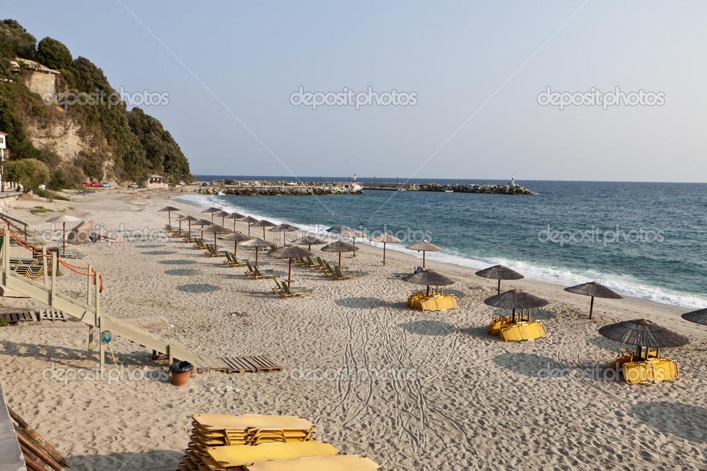Beach at Pelion in Greece