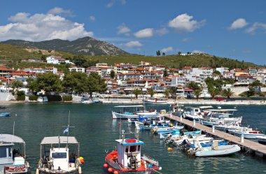 Neos Marmaras summer resort at Halkidiki in Greece