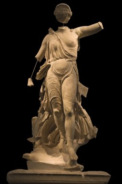 Statue of Nike at ancient Olympia museum, Greece