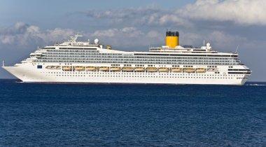 Cruise ship in Greece