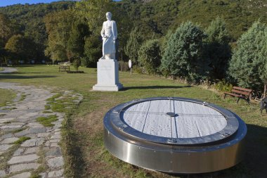 Aristotle park located at Stageira of Greece