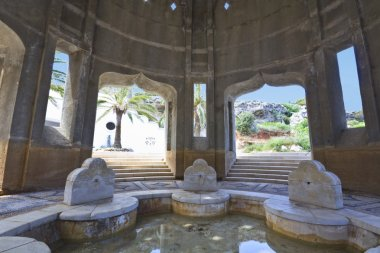 Kalithea spa at Rhodes island in Greece