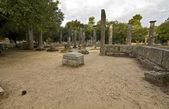 Fotografia antica Olimpia in Grecia