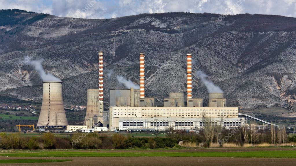 Griechenland Kohlekraftwerk
