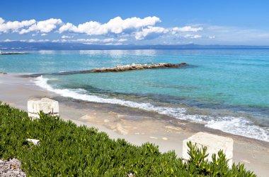Kallithea summer resort at Halkidiki, Greece
