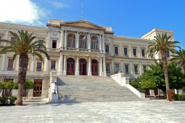 Images of Syros island in Greece