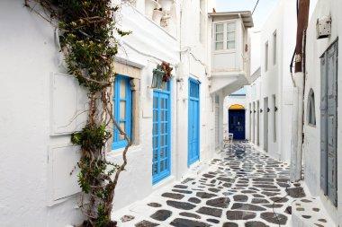 Summer destination of Mykonos in Greece