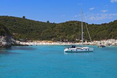 Antipaxos island in Greece