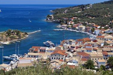 Paxos island in the Ionian sea, Greece