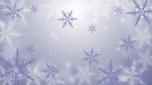 sfondo di cristallo di neve