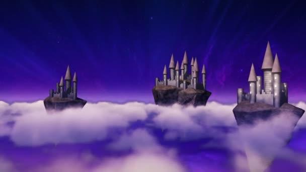 cielo-castelli, librandosi sopra le nuvole