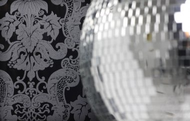 discoball and wallpaper