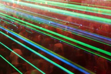 laser crowd