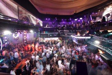 crowd at club