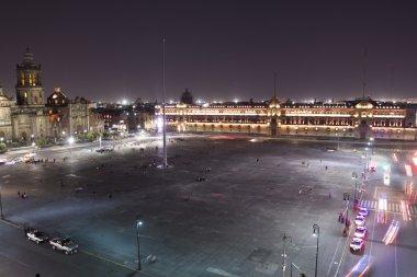 the zocalo in mexico city