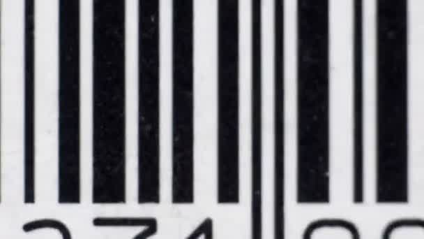 zastavení pohybu obrazů různých čárových kódů